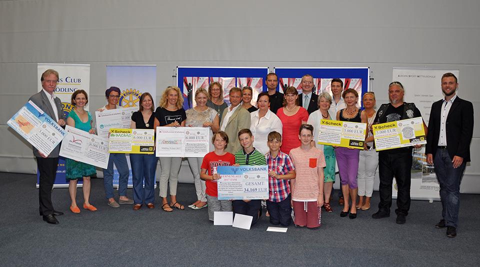 Rotarier unterstützen Diabetescamps für Österreichische Kinder