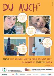 Poster für Eltern/Betreuungspersonen