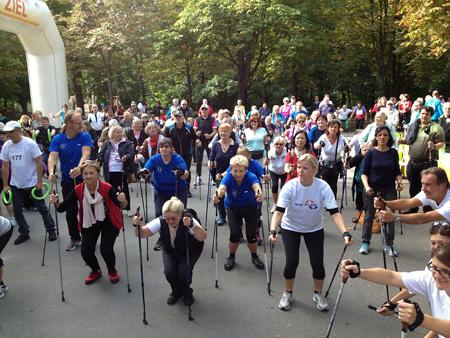 8. ÖDG Nordic City Walk am 15.09. - Prater Hauptallee